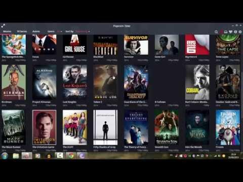 شرح طريقة تحميل الافلام والمسلسلات عالية الجودة HD مجانا على  Popcorn Time