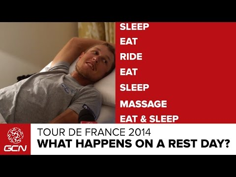 What Happens On A Rest Day? | Tour De France 2014