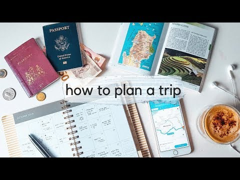 How To Plan a Trip ✈️ ~ 5 Steps