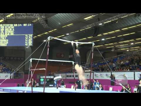 2012 European Championships Brussels 2012, Hannah WEHLAN (GBR) Uneven Bars
