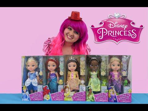 Disney Princess Toddler Dolls   TOY REVIEW   KiMMi THE CLOWN
