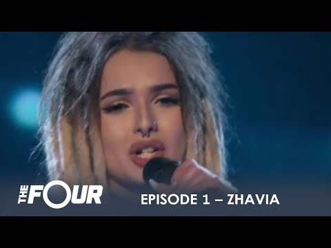 Zhavia: She's Only 16 But Wait What Happens When She Opens Her Mouth | S1E1 | The Four | the four