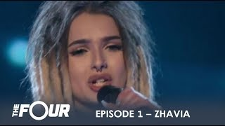 Download Song Zhavia: She's Only 16 But Wait What Happens When She Opens Her Mouth | S1E1 | The Four Free StafaMp3