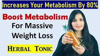 Fat Melting Herbal Tonic - Get Flat Stomach, Slim Thighs & Hips / Weight Loss Drink