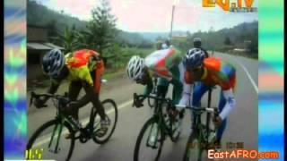 ERi-TV Eritrean Cyclist Reportage from Tour Rwanda (November 20, 2014)