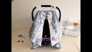 DIY, Baby Car Seat Cover, Puset Örtüsü Yapılışı, Kendin Yap