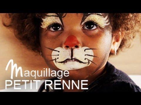 Maquillage renne de no l tutoriel maquillage enfant facile youtube - Maquillage de noel facile a faire ...