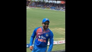 INDIA VS WEST INDIES CRICKET MATCH IN FLORIDA, ROHIT SHARMA
