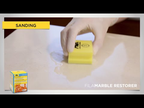 FILAMARBLE RESTORER - remove acid etch marks from marble (en)