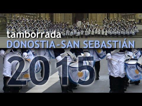 Tamborrada San Sebasti�n 2015 Jesuitinas desde dentro