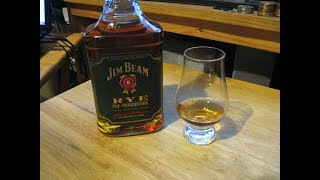 Hougly Whiskey Review: Jim Beam Rye Pre Prohibition Style.