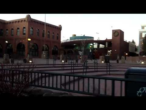 Walking around Downtown Flagstaff, AZ part 1