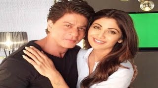 Shahrukh Khan And Shilpa Shetty Together