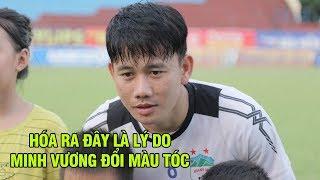 Ted Trần bất ngờ khi Minh Vương tiết lộ về việc thay đổi màu tóc và lý do chăm tập đá phạt