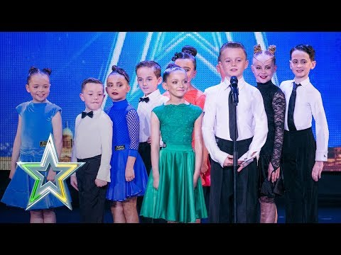 Dublin dancers Xquisite Shake It Off on the IGT stage   Auditions Week 3   Ireland's Got Talent 2018