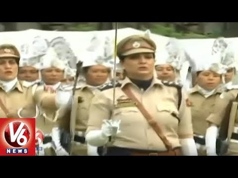 Police Rehearsal For Independence Day Celebrations At Sher i Kashmir Stadium | Jammu & Kashmir | V6