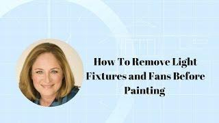 (2.88 MB) How To Remove Light Fixtures and Fans Before Painting Mp3