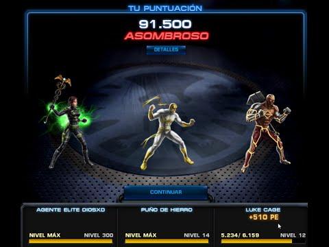 Nuevo TRAJE LUKE CAGE & Mejor forma entrenar Heroes Probando Mostrando sus Habilidades