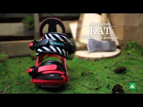 Video: Girls' Kat Snowboard Bindings