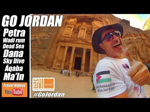 GOJORDAN - Jordania - Viajando con Diego Petra, Wadi Rum, Aqaba, Sky Dive, Dead Sea,