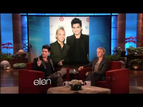 Adam Lambert interview at Ellen DeGeneres Show