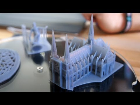 World Maker Faire 2012: Formlabs Form 1 3D Printer