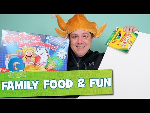 Family Food and FUN - G Says Get Ready for Thanksgiving!