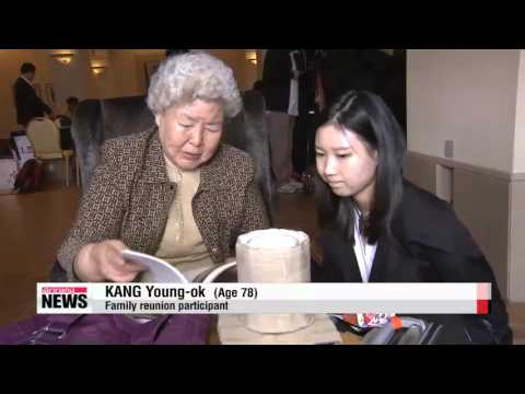 War-separated South and North Koreans to meet for family reunion   오늘 이산가족 상봉 1차