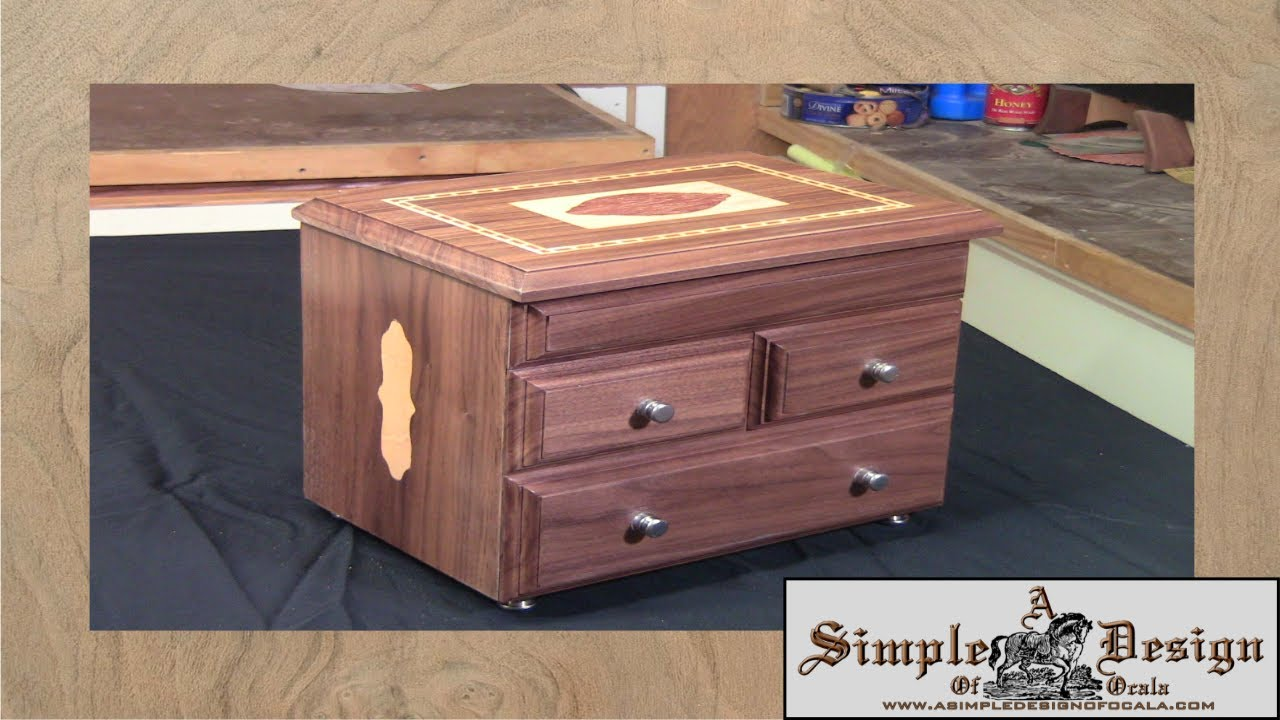 making an inlay jewelry box part 1 youtube. Black Bedroom Furniture Sets. Home Design Ideas