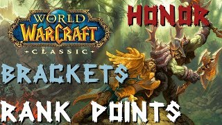 Ranking and the Honor System Explained in full! Classic WoW Honor Grind