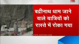 Massive landslide strikes near Badrinath route, 15,000 tourists stranded