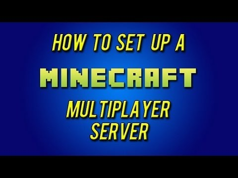 How to Make a Minecraft Server 1.7.4 (No Hamachi) (EASY)