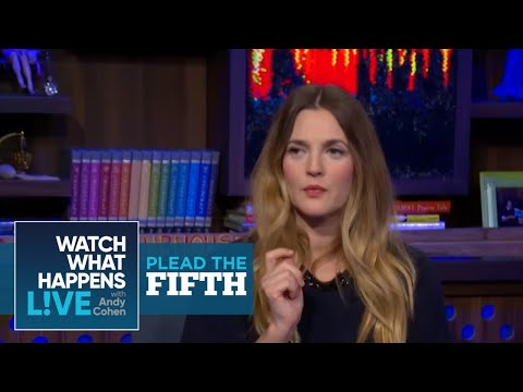 Why Drew Barrymore Had Only One Date With Christian Bale - Plead The Fifth - WWHL