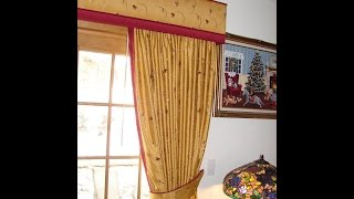 How To Upholster A Cornice Part1 of 3