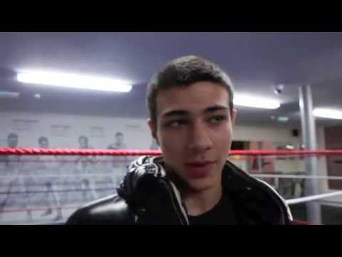 INTRODUCING AMATEUR PROSPECT THOMAS FURY (TYSON FURY'S BROTHER) TO iFL TV - WITH KUGAN CASSIUS