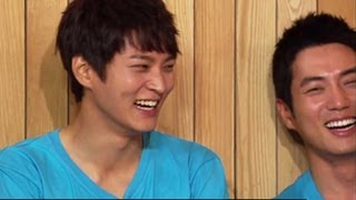 Happy Together - Handsome Guy Special with Joo Won, Ju Sanguk, Kim Youngkwang & more! (2013.08.21)