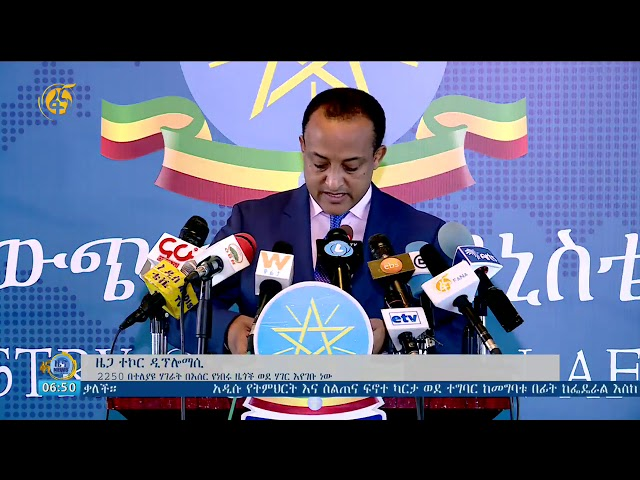 Fana Television   New Spokesperson for Foreign Affairs Press Release