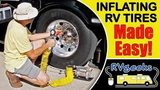 How To Inflate RV Tires The Easy Way (Hint: Use a Viair 400P-RV )