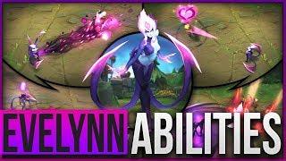 EVELYNN REWORK ABILITIES SPOTLIGHT GAMEPLAY - League of Legends