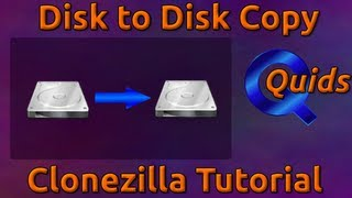 Disk to Disk Copy with Clonezilla