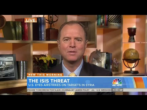 Rep. Schiff Discusses Threat from ISIL and U.S. Options on NBC's The Today Show