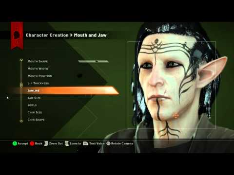 Dragon Age Inquisition Characters Creation Dragon Age Inquisition