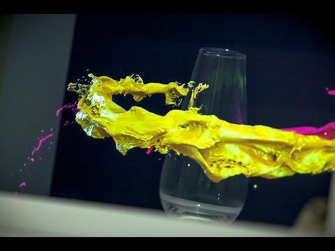 RealFlow -  Filling A Glass Using Dspline