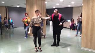 Pablo Vilches dancing Kizomba at Madrid International Congress 2018