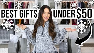 10 Best Christmas Gifts UNDER $50! *must-see*