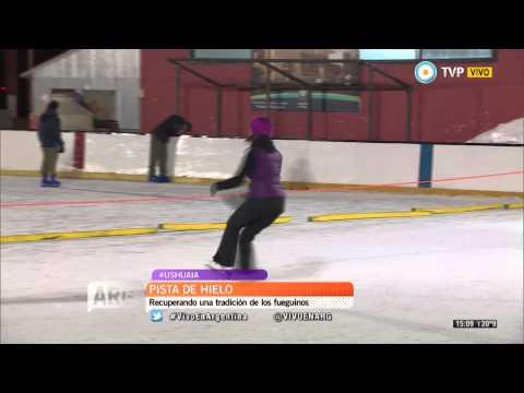 Vivo en Arg - Deportes de hielo en Ushuaia - 29-06-15 (1 de 2)