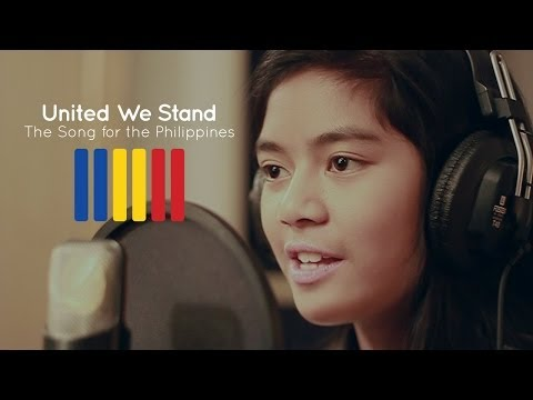 Maria Aragon - United We Stand - The Song for the Philippines Music Videos