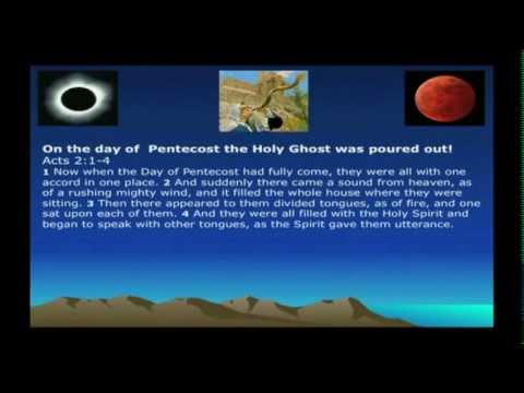 The Seven Feasts of The Lord and The Blood Moons
