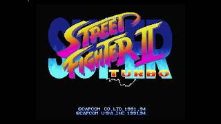 Super Street Fighter II Turbo  3DO Opening