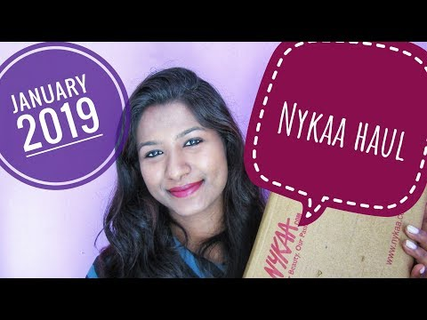 Nykaa haul || January 2019